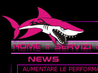 Sito web interamente in flash Shark Tuning